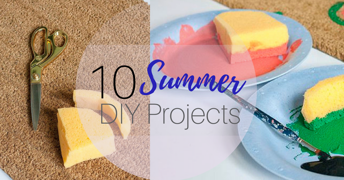 10 Summer DIY Projects