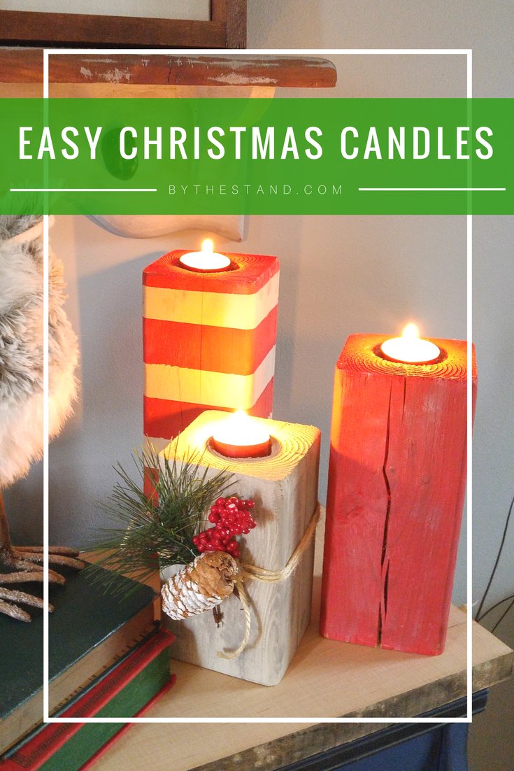 easy chirstmas candles1