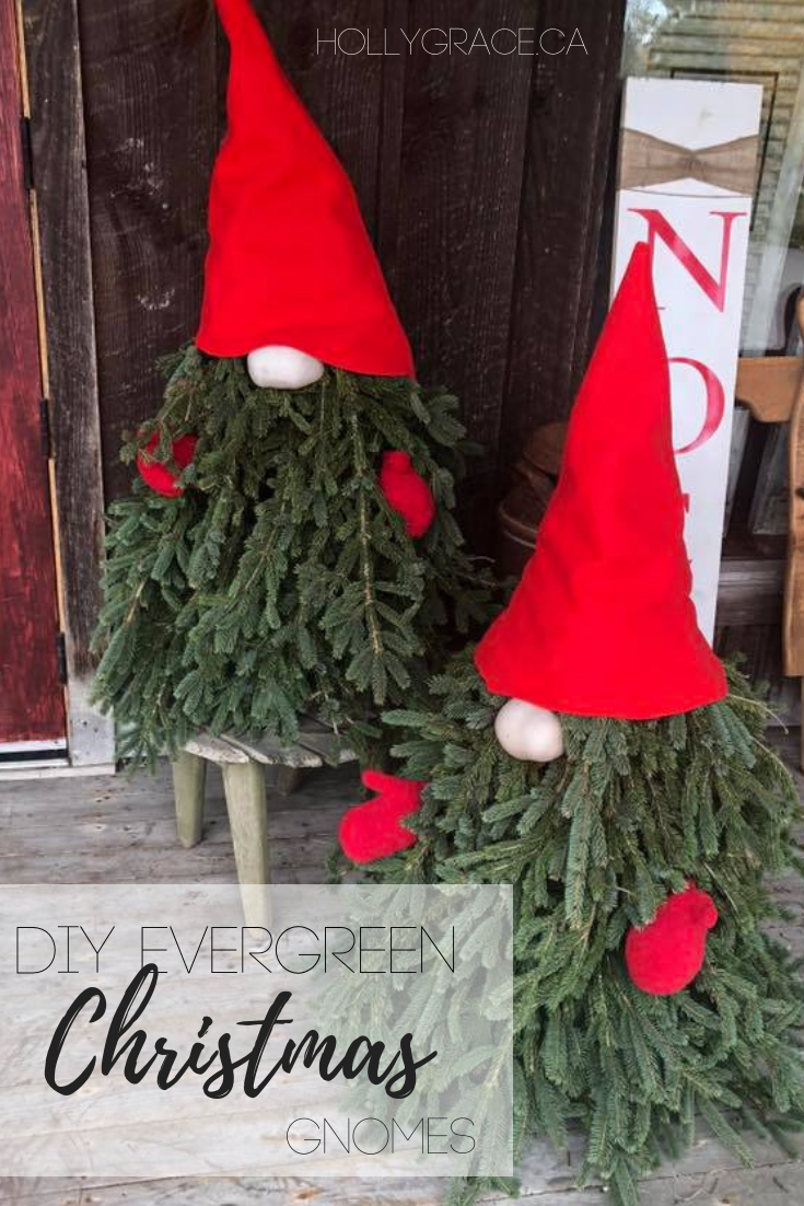 Diy Evergreen Gnome Holly Grace