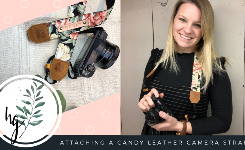 Candy Leather Camera Strap