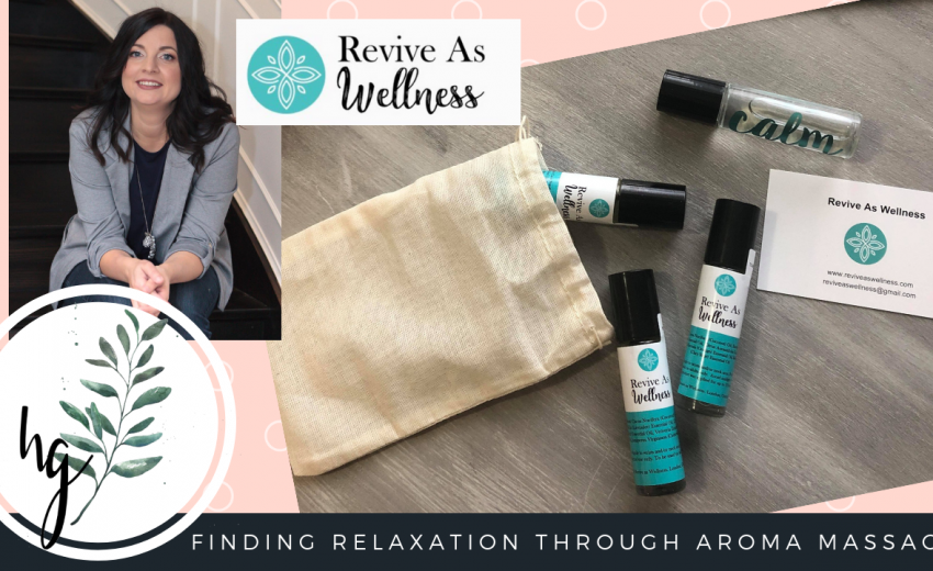 Finding Relaxation Through Aroma Massage with Revive As Wellness