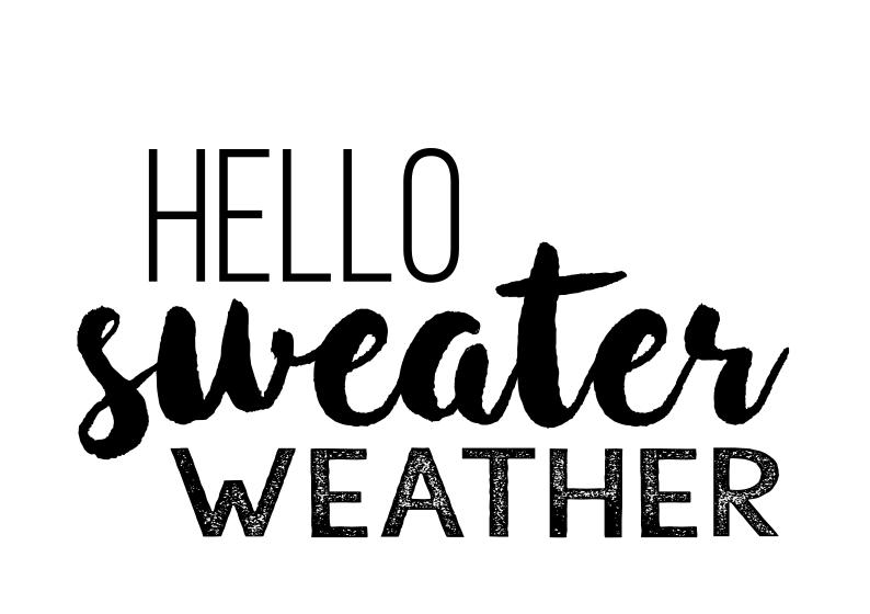 HelloSweaterWeather