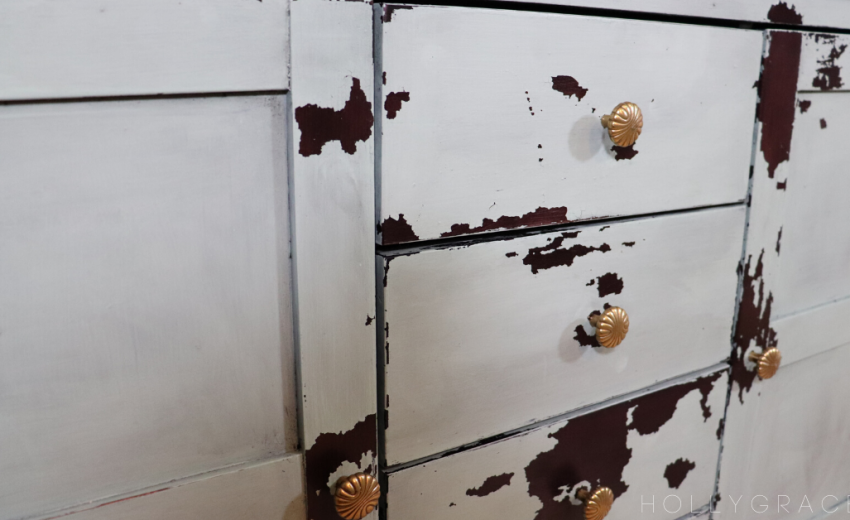 Entryway Table Makeover with Sweet Pickins Milk Paint
