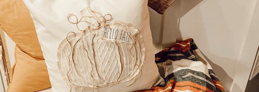 Sweater Pumpkin Pillow